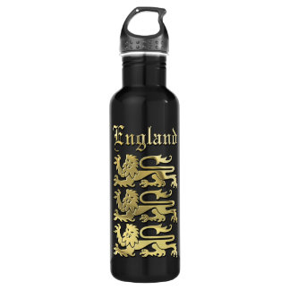 The Coat Of Arms Of England Water Bottle
