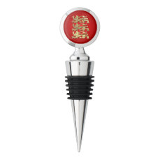 The Coat Of Arms Of England Wine Stopper