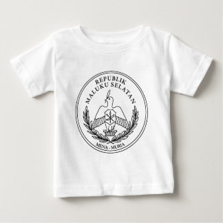 The coat of arms of the Republic of South Moluccas Baby T-Shirt