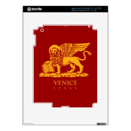 The Coat of Arms of Venice, Italy Decal For iPad 3