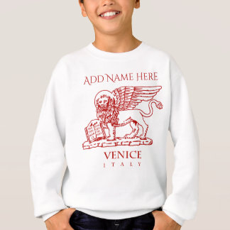 The Coat Of Arms Of Venice, Italy Sweatshirt