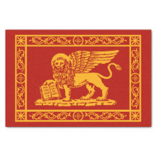 The Coat of Arms of Venice, Italy Tissue Paper