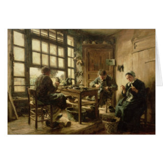 The Cobblers, 1880 Card