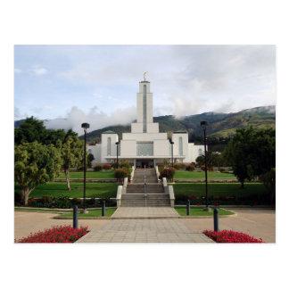 The Cochabamba Bolivia LDS Temple Postcard