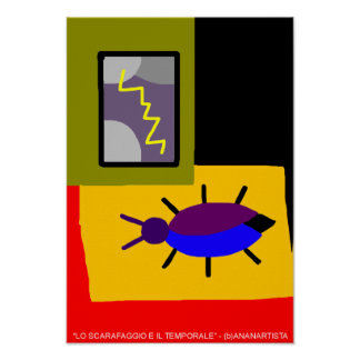 the cockroach and the storm poster