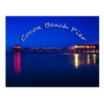 The Cocoa Beach Pier, Cocoa Beach, Florida, U.S.A. Post Card