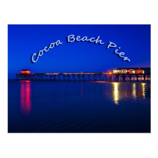 The Cocoa Beach Pier, Cocoa Beach, Florida, U.S.A. Postcard