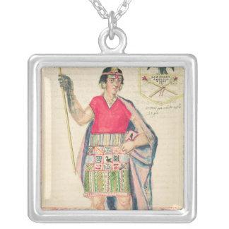 The Codice Murua Square Pendant Necklace