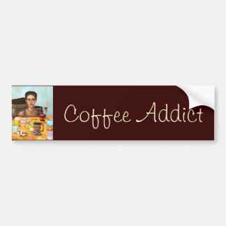 The Coffee Addict Bumper Sticker