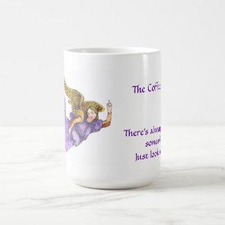 The Coffee Angel mug