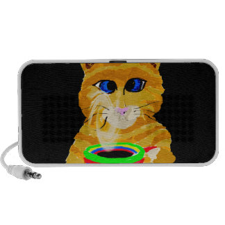 The Coffee Cat Travelling Speakers