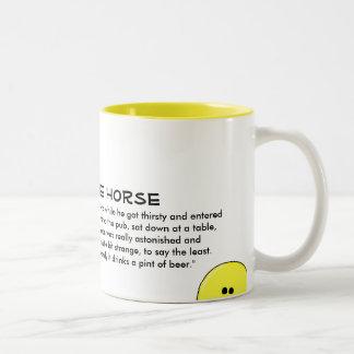 The Coffee Horse on Mug