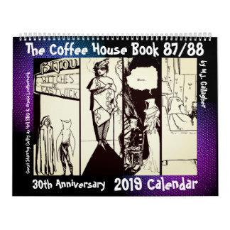 The Coffee House Book 30 Anniversary 2019 Calendar