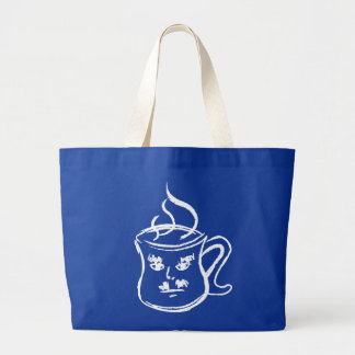 The Coffee Man - Dark Tee Shirt Bag