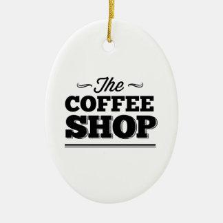 The Coffee Shop Christmas Tree Ornaments