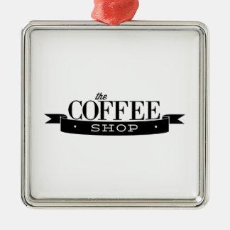 The Coffee Shop Christmas Ornament