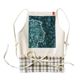 The Cogs of Life Zazzle HEART Apron