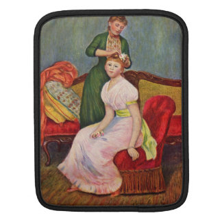 The Coiffoire by Pierre Renoir iPad Sleeves