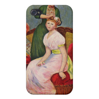 The Coiffoire by Pierre Renoir Cover For iPhone 4