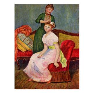 The Coiffoire by Pierre Renoir Postcard