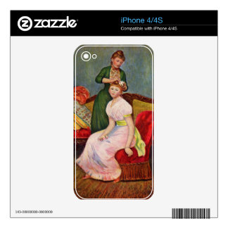 The Coiffoire by Pierre Renoir iPhone 4 Skin