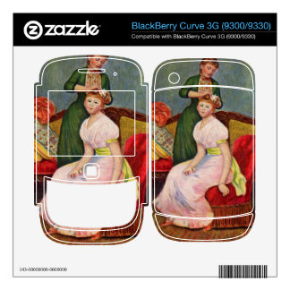 The Coiffoire by Pierre Renoir Decals For BlackBerry