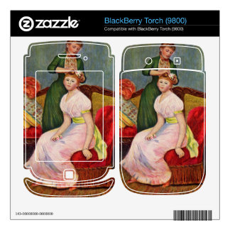 The Coiffoire by Pierre Renoir BlackBerry Torch Decals