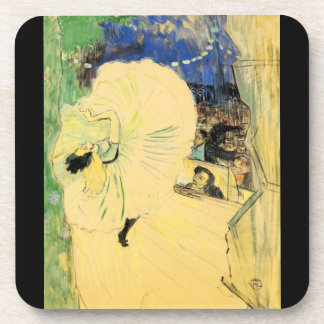 The coil by Toulouse-Lautrec Coasters