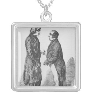 The Cointet brothers Silver Plated Necklace