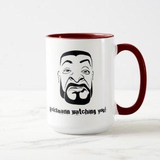 The coke man Watching You! Mug