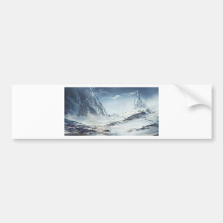 The Cold Is Warmth Bumper Sticker