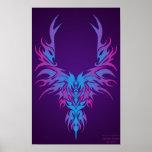 The Cold Phoenix Print