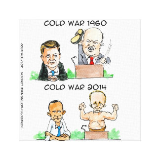 The Cold Wars Funny Canvas Print Stretched Canvas Prints
