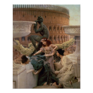 The Coliseum, 1896 (oil on panel) Posters