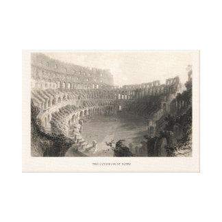 The Coliseum at Rome Canvas Print