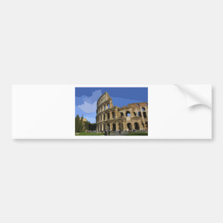 The Coliseum Bumper Sticker