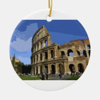 The Coliseum Ceramic Ornament