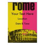 """The Coliseum in Rome 5"""" X 7"""" Invitation Card"""