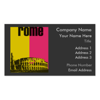 The Coliseum in Rome Double-Sided Standard Business Cards (Pack Of 100)