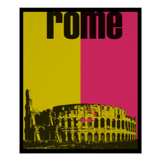 The Coliseum in Rome Poster
