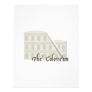 The Coliseum Letterhead