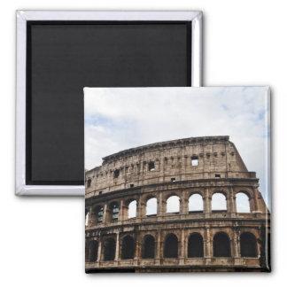 The Coliseum 2 Inch Square Magnet