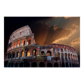 The Coliseum of Ancient Rome Poster