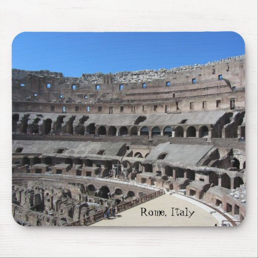 The Coliseum, Rome Italy Mouse Pad