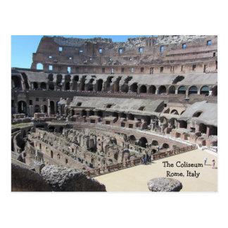The Coliseum - Rome Italy Postcard