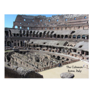 The Coliseum - Rome Italy Postcards