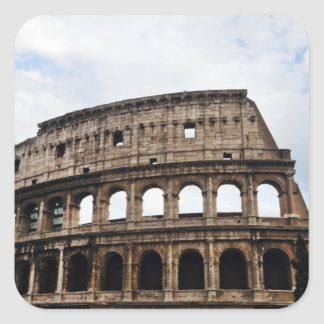 The Coliseum Square Sticker