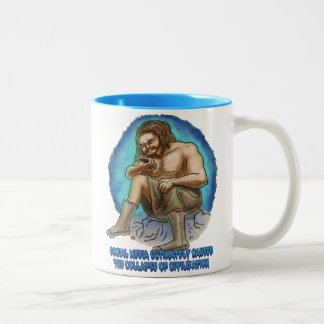 The Collapse of Civilization Two-Tone Coffee Mug