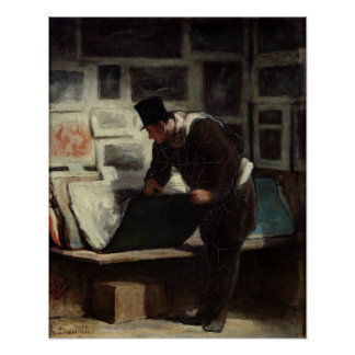 The Collector of Engravings, c.1860-62 Poster