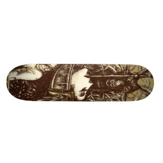 The collectress custom skate board
